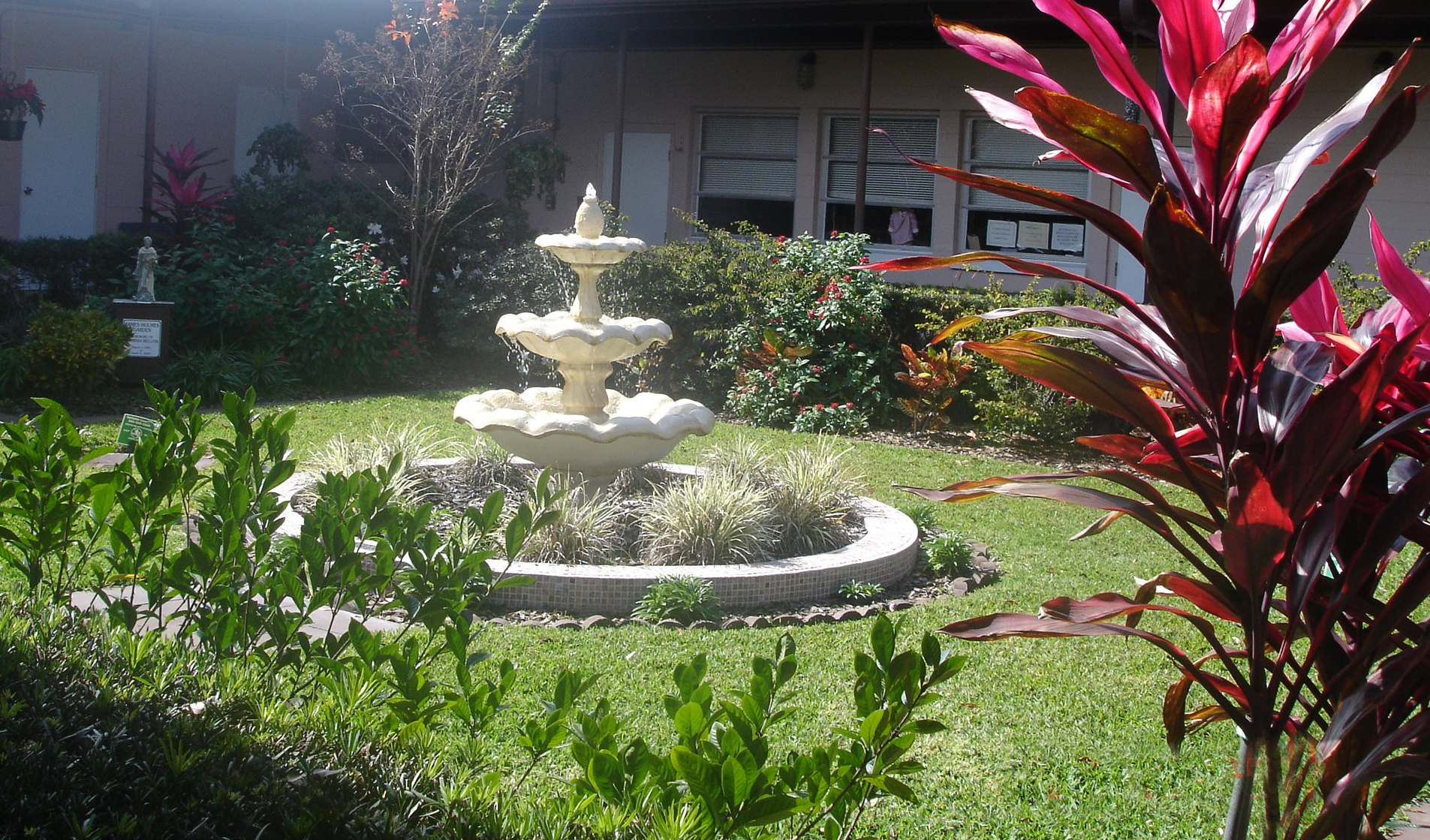 Church Fountain Garden cropped